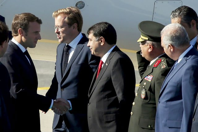 Macron in Istanbul for Syria summit with Russia, Turkey and Germany