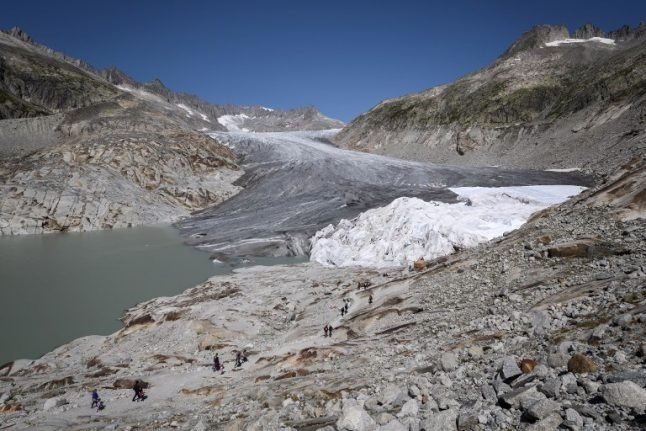 'Year of extremes' for shrinking Swiss glaciers in 2018: study