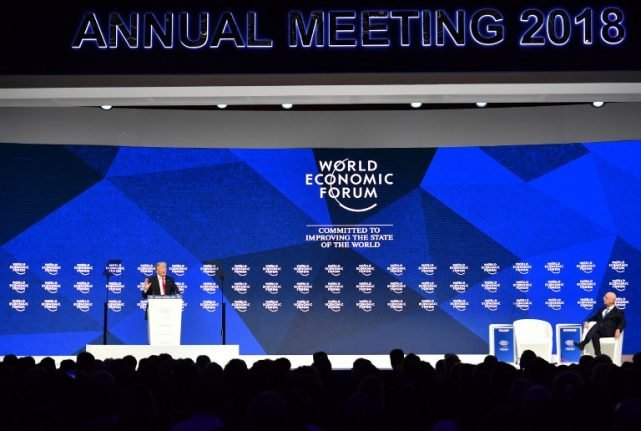 WEF slams 'misuse' of Swiss resort name for conference