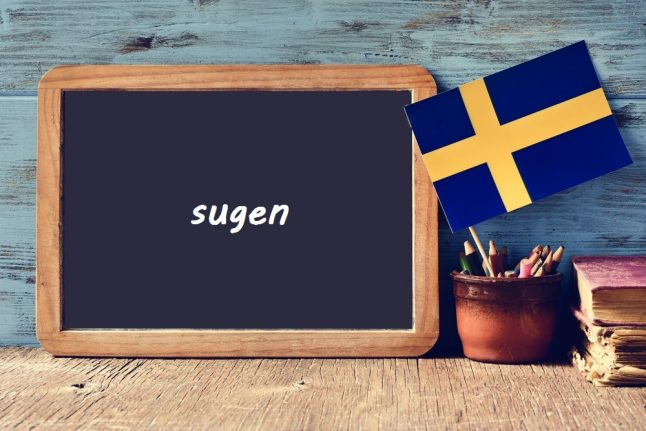 Swedish word of the day: sugen