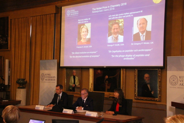 BLOG: Nobel Prize for US and UK scientists who 'harnessed the power of evolution'