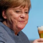Dinner for one? Merkel and co talk Brexit at beer summit as Britain dines alone