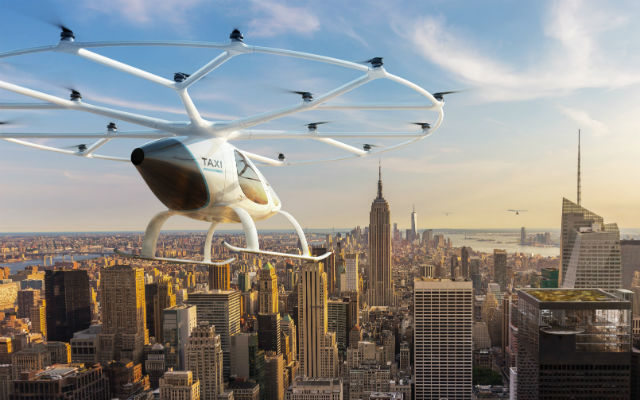 German 'air taxi' firm to test in Singapore in 2019