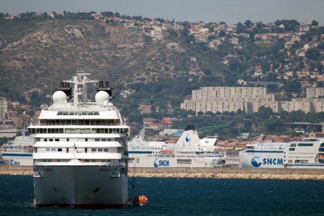 Marseille puts American cruise ship captain on trial over pollution