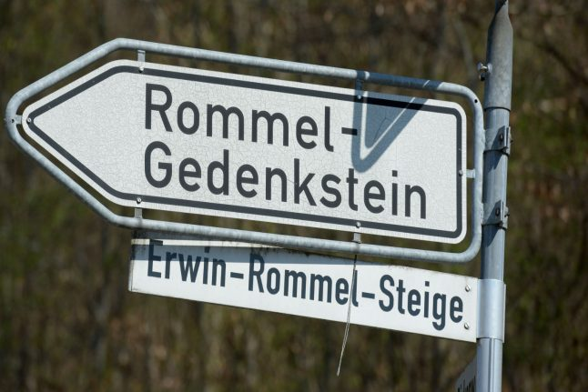 Outcry in Germany over homage to Nazi general