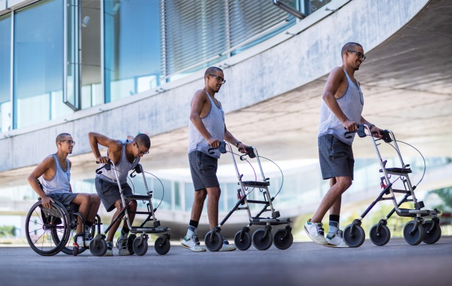 Swiss science: targeted electrical stimulation helps paralysed men walk again