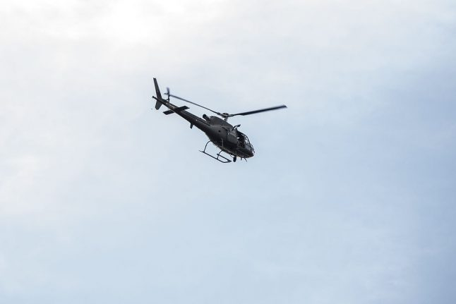 Danish town complains over noise as police use helicopter to search for missing woman