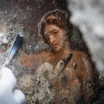 'Erotic' fresco of Leda and the Swan unearthed at Pompeii