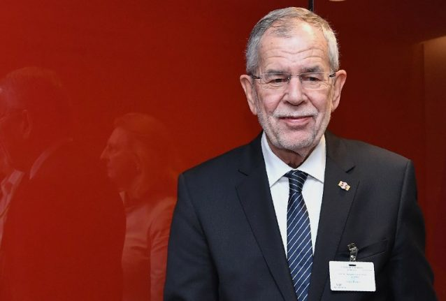 Austrian president warns against 'politics of scapegoating' on anniversary of Nazi pogrom