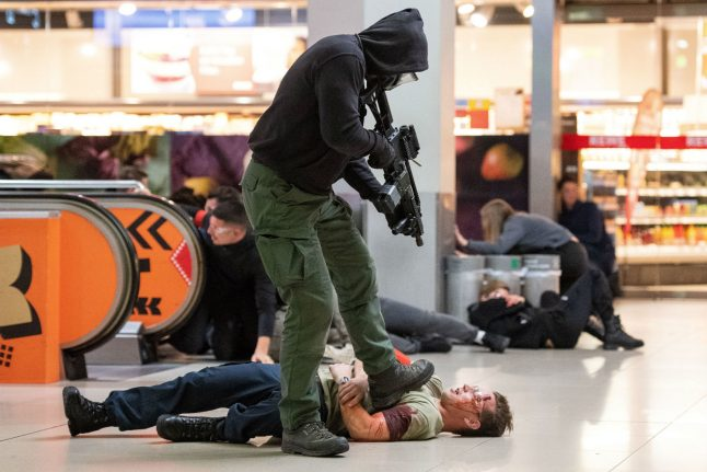 Germany carries out largest terrorism drill to date