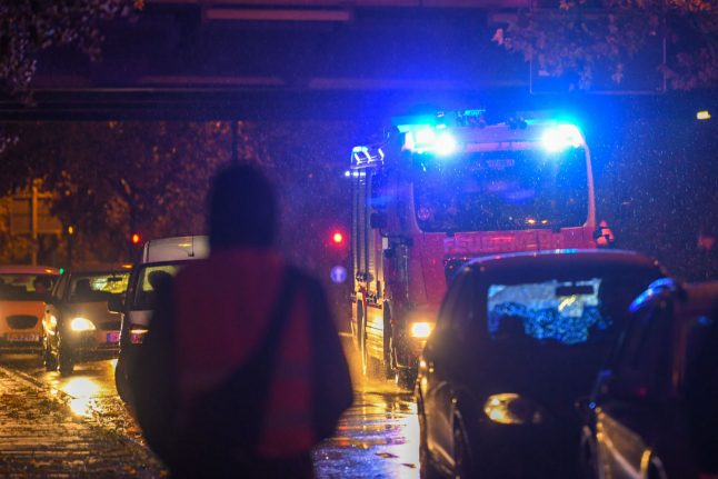 Chemical accident sparks alert sirens and road closures in Frankfurt
