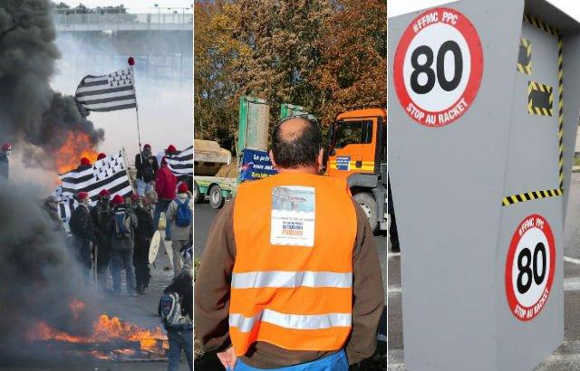 Why France's high-vis drivers' rebellion is about more than just petrol prices