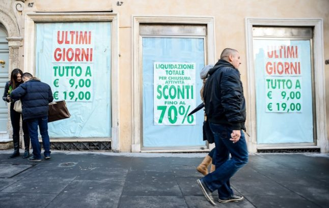 Italian economy to grow less than government predicts, says stats agency