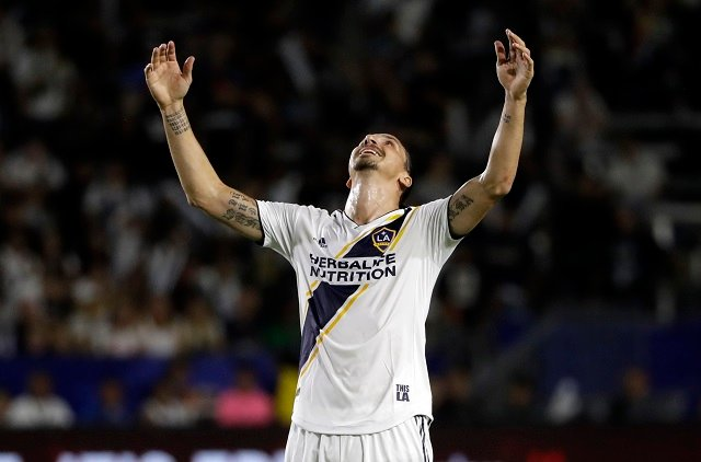 Swedish striker Zlatan named Newcomer of the Year in US soccer