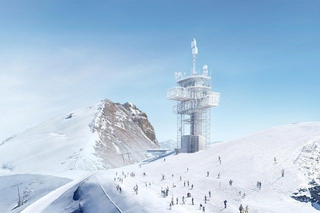 Here's how Switzerland's Titlis mountain will look after starchitect revamp