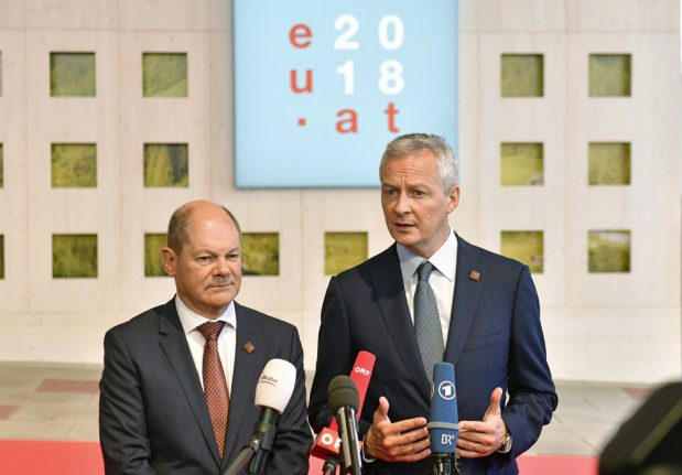 Paris, Berlin agree on future eurozone budget: French ministry source