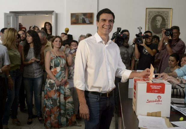 Spanish govt admits snap general election may be a possibilty