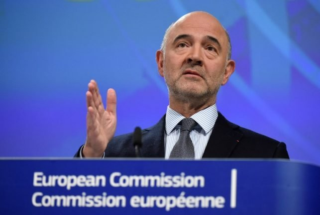 EU's Moscovici reaches out to Rome