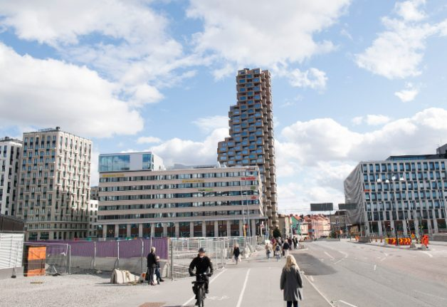 There's a growing number of apartments for sale in Sweden