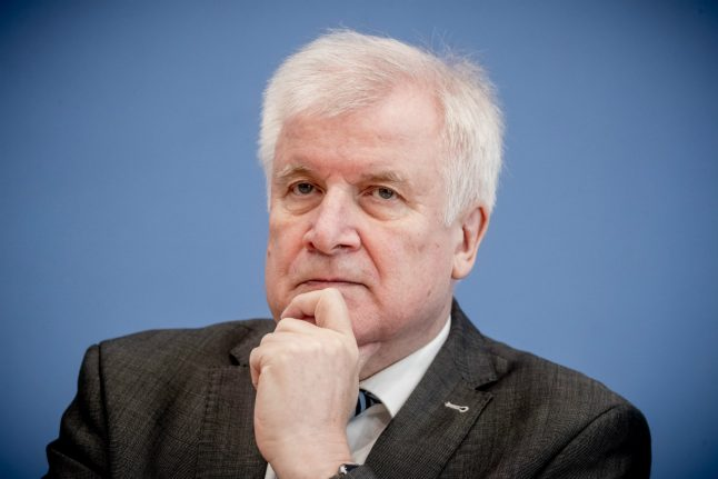 German Interior Minister rules out deportations to Syria