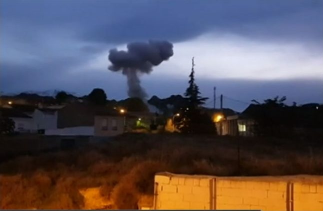 Three killed in explosion at Spain fireworks factory