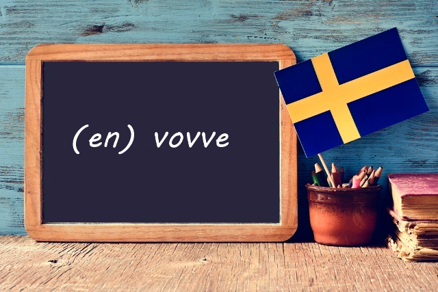 Swedish word of the day: vovve