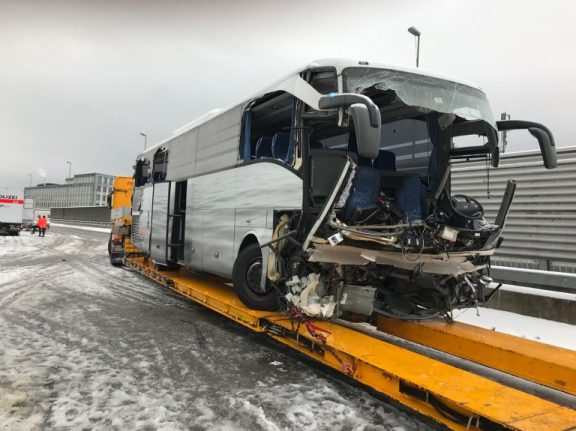 Italian woman killed and over 40 injured in Swiss bus crash