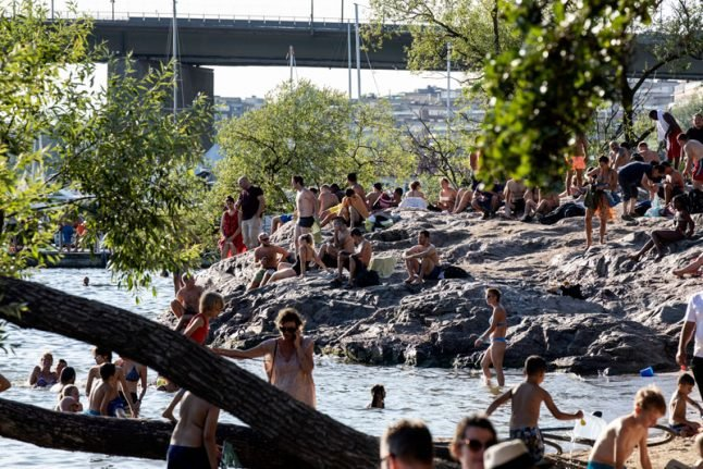 Mortality increased by 700 during Sweden's summer heatwave