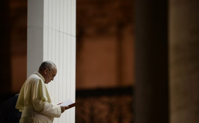 Pope vows Church will 'never again' ignore abuse accusations