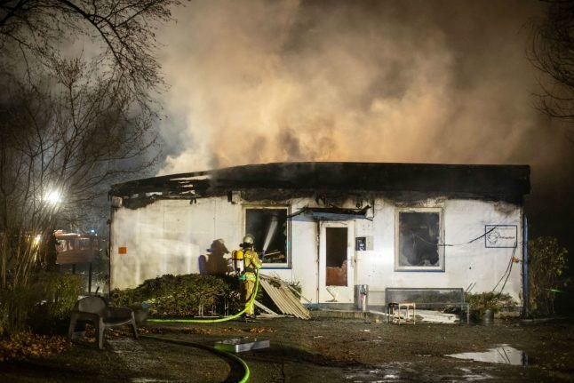 Duisburg food bank destroyed in fire