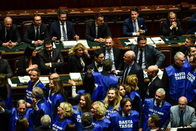 Italian MPs approve revised budget after EU standoff