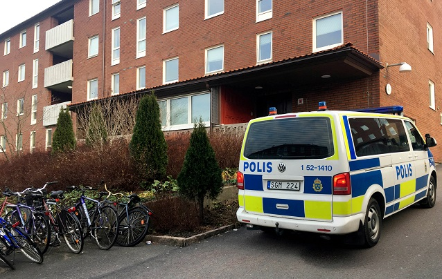 One person detained on terror charges in western Sweden following police raids