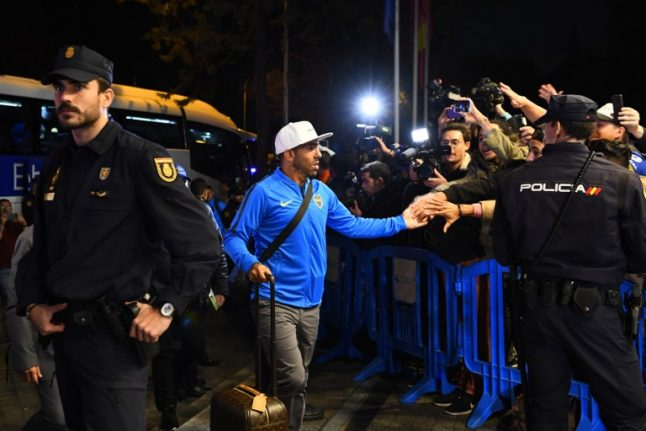 Madrid braces for 'maximum security' before Sunday's 'weird' final between Argentinian teams
