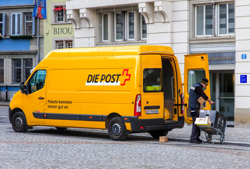 1.4 million parcels a day: record Christmas for Swiss Post