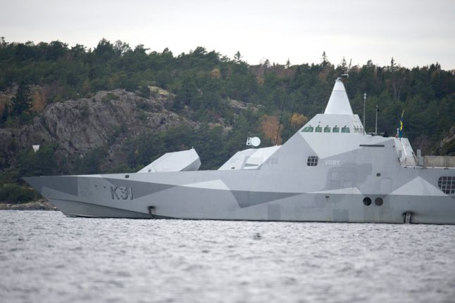Brit and Belgian arrested for breaking into Swedish naval base