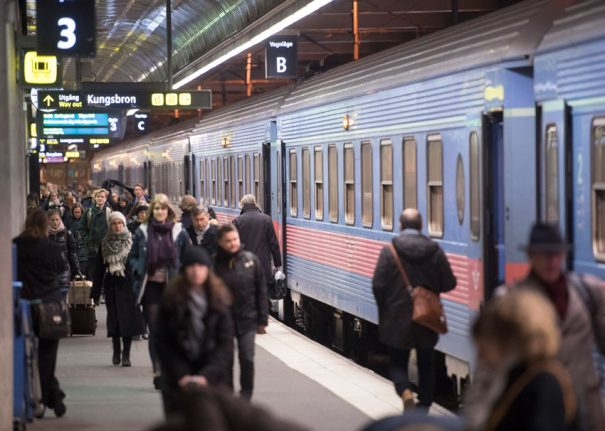 Good news for Sweden rail commuters after 'rough year'