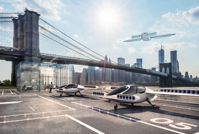 Switzerland's SBB sets sights on hi-tech flying taxi service