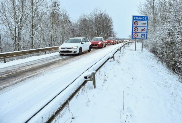 Snow update: Transport problems hit parts of France in wake of Storm Gabriel
