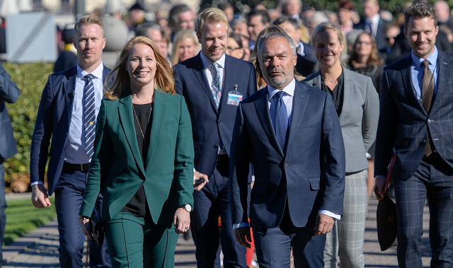What does Sweden's government deal mean for internationals?