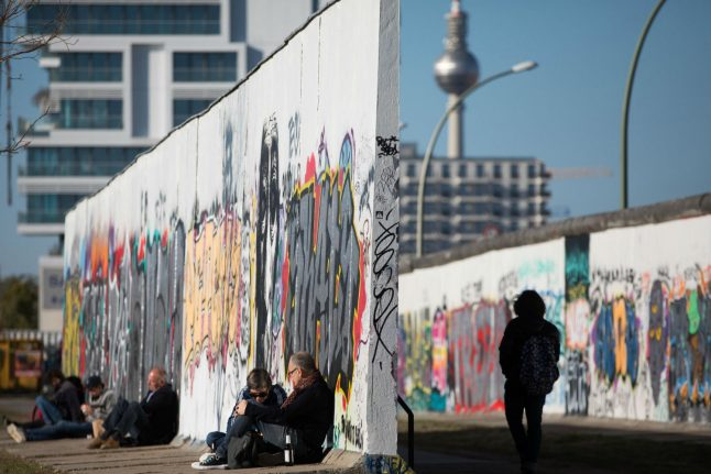 2018 saw record number of visitors to Berlin Wall