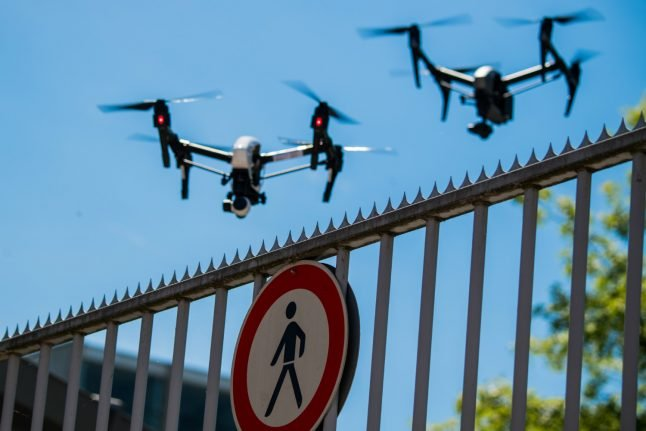 Drones cause record number of air traffic disruptions in Germany