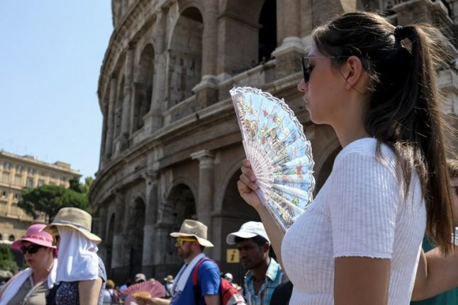 Sights of Rome and Florence attract nearly 30 million visitors
