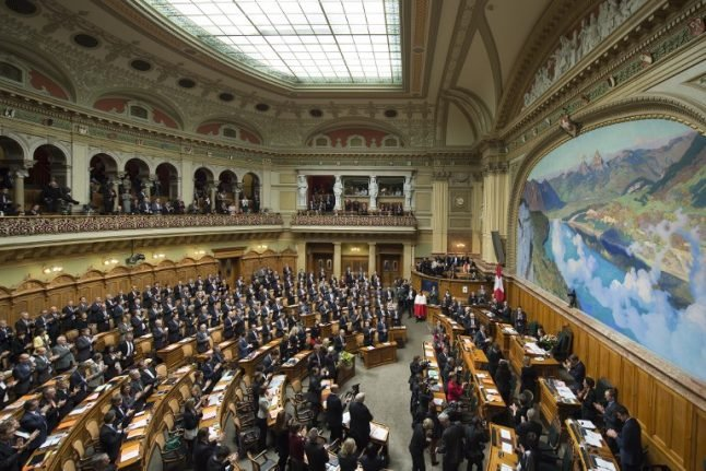 Call for Swiss MPs and senators to disclose dual nationality