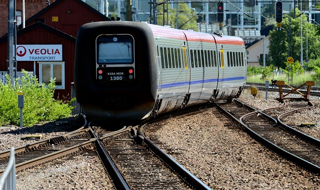 Man dead after train collides with car in southern Sweden