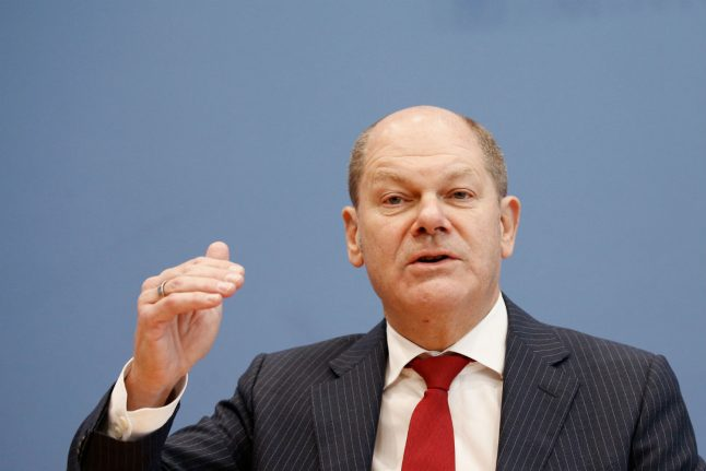 'Fat years are over', Germany's Scholz says on tax intake
