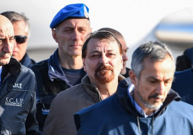 Cesare Battisti is finally back in an Italian prison, nearly 40 years after he escaped