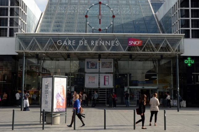 'Drunken' Briton's foot sliced off by train after he fell asleep on tracks in French rail station