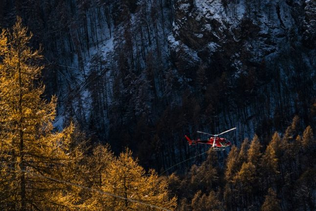 Five dead as plane collides with helicopter over Italian Alps