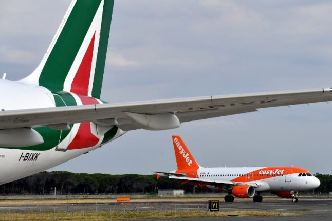 Italy's railways company in talks with Delta and EasyJet to save Alitalia