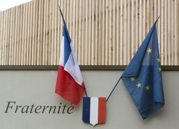 French and European flags to fly in classrooms of schools in France
